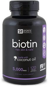 Biotin Hair Growth Vitamins
